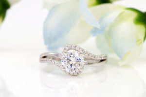 Yellow And Rose Gold Engagement Rings