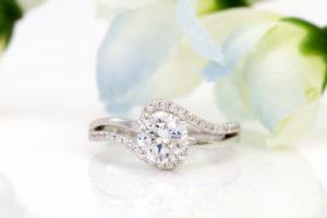 Engagement And Wedding Band Set